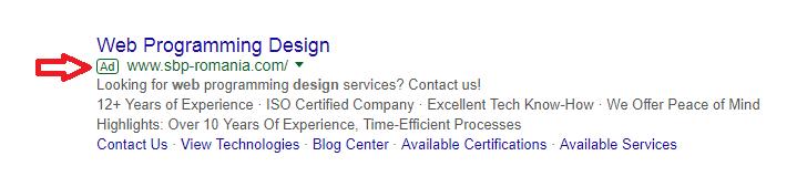 Google AdWords Text Ad